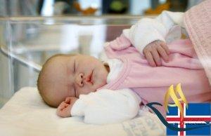 اقامت از طریق تولد فرزند در کشور ایسلند