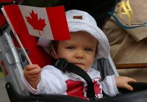 اقامت از طریق تولد فرزند در کشور کانادا