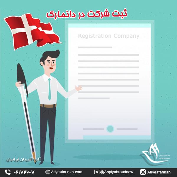 ثبت شرکت در کشور دانمارک