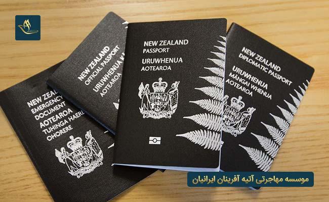 مهاجرت به نیوزلند و اخذ تابعیت