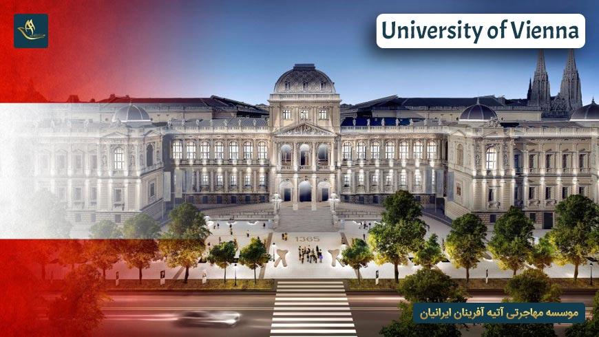 دانشگاه وین اتریش   تاریخچه دانشگاه وین اتریش   دانشکده ها