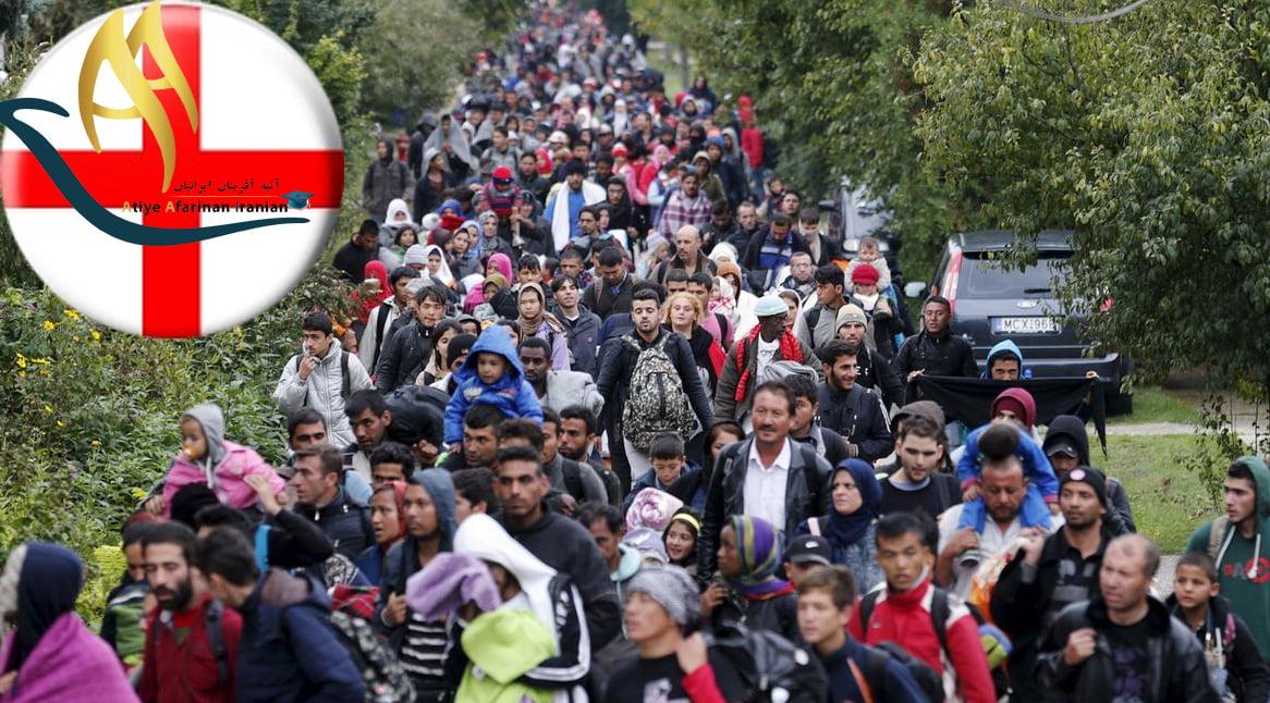 پناهندگی در انگلیس