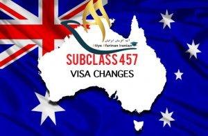 ویزای ساب کلاس 457 استرالیا