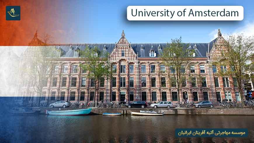 دانشگاه آمستردام هلند | تحصیل در هلند | دانشکده های دانشگاه آمستردام هلند