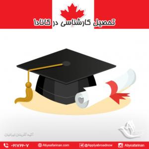 تحصیل کارشناسی در کانادا