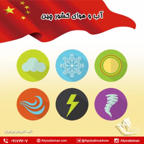 آب و هوای کشور چین