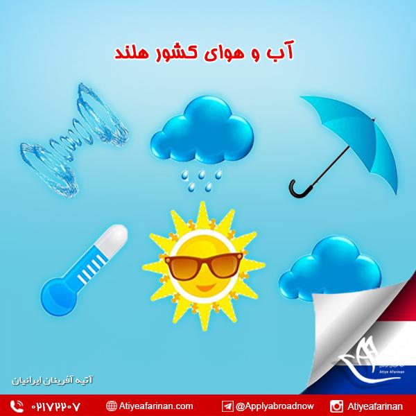 آب و هوای کشور هلند