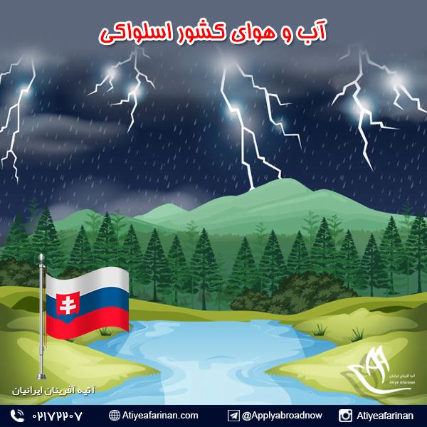 آب و هوای کشور اسلواکی