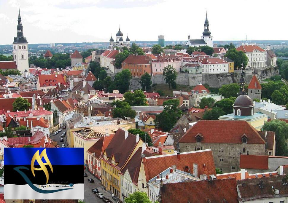 شهرهای مهم استونی