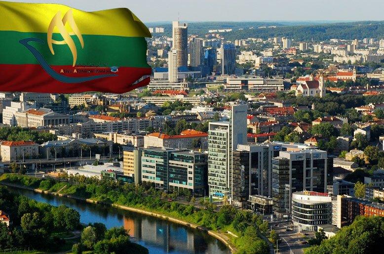 شهرهای مهم لیتوانی
