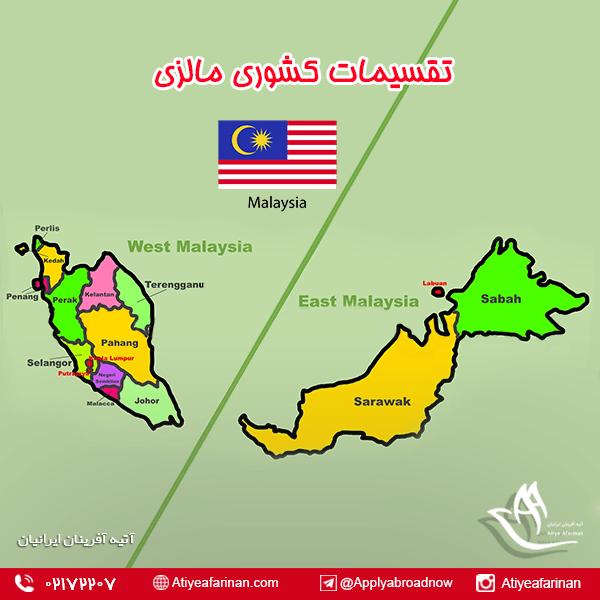 تقسیمات کشوری مالزی