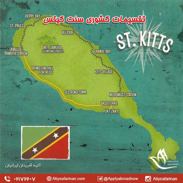 تقسیمات کشوری سنت کیتس