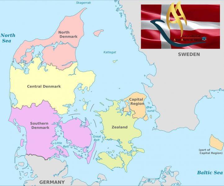 تقسیمات کشوری دانمارک