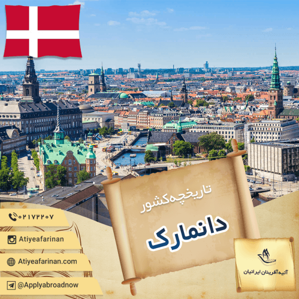تاریخچه کشور دانمارک