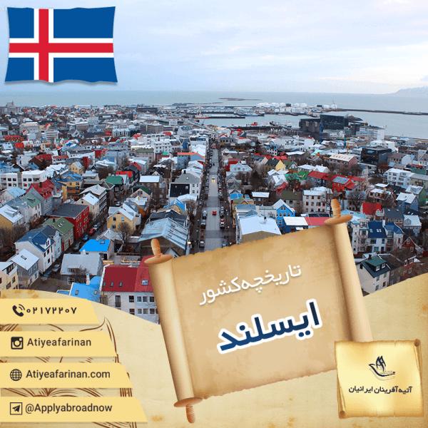 تاریخچه کشور ایسلند