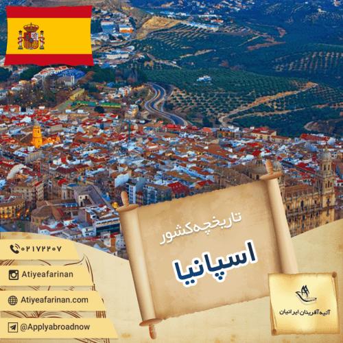تاریخچه کشور اسپانیا