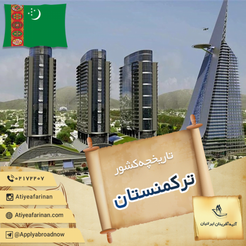 تاریخچه کشور ترکمنستان