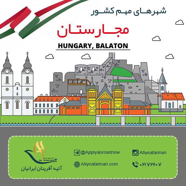 شهرهای مهم کشور مجارستان
