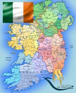 تقسیمات کشوری ایرلند