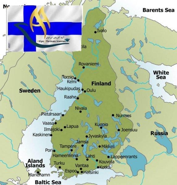 تقسیمات کشوری فنلاند