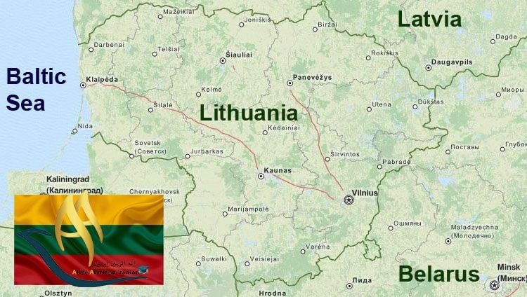 تقسیمات کشوری لیتوانی
