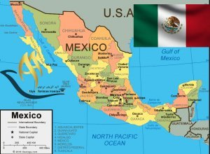 تقسیمات کشوری مکزیک