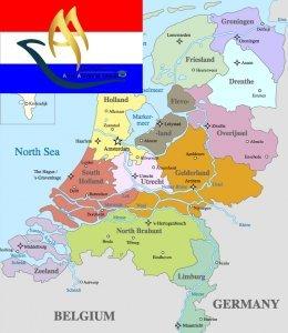 تقسیمات کشوری هلند