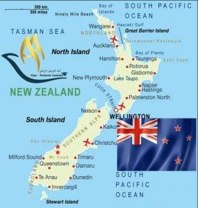 تقسیمات کشوری نیوزلند