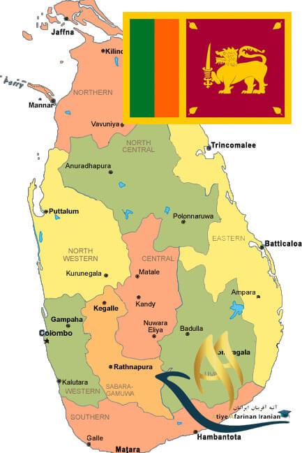 تقسیمات کشوری سریلانکا