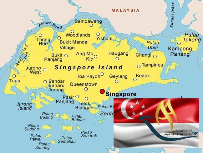 تقسیمات کشوری سنگاپور
