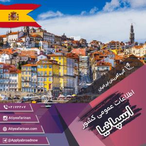 اطلاعات عمومی کشور اسپانیا