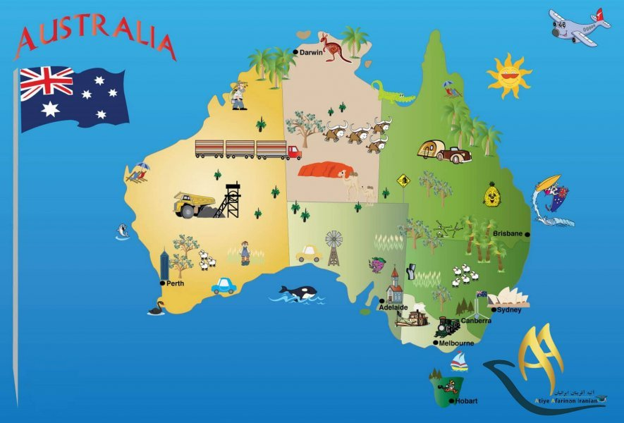 اطلاعات عمومی استرالیا