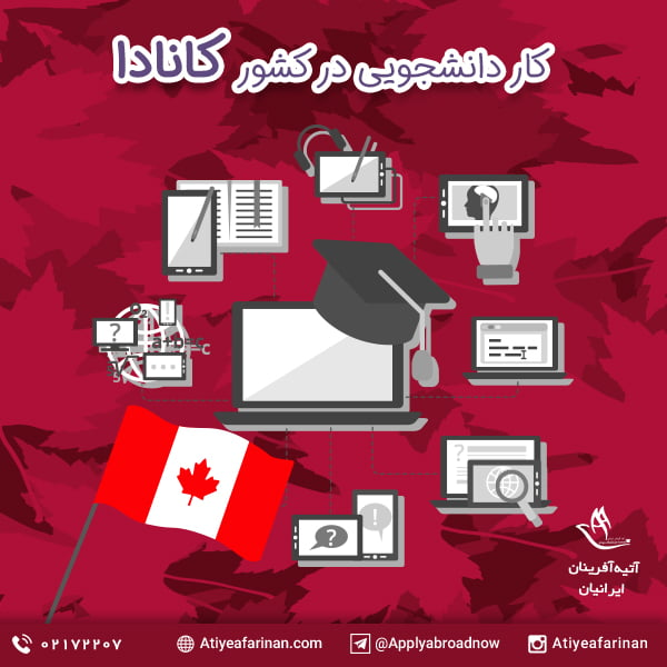 کار دانشجویی در کانادا