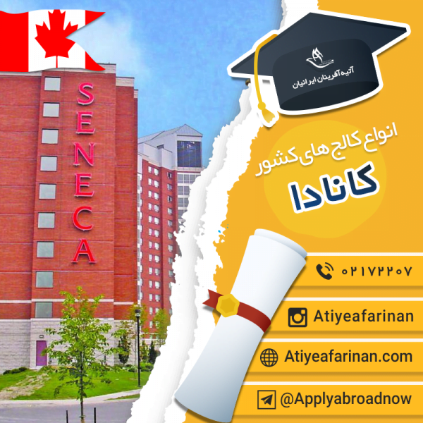 انواع کالج های کانادا