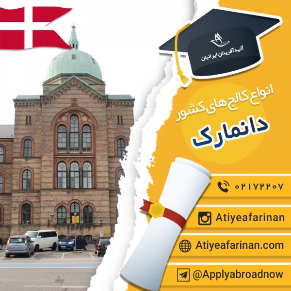 انواع کالج های دانمارک