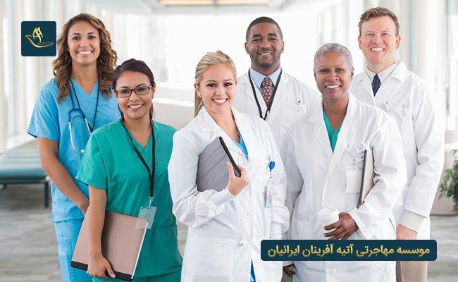 استخدام گروه درمانی در کشور سوئد |  مراحل اخذ نظام پزشکی پس از ورود به کشور سوئد | اقامت کشور سوئد