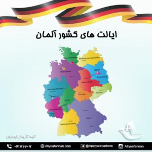 ایالت های کشور آلمان