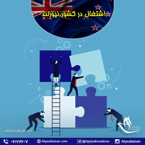 اشتغال در کشور نیوزلند
