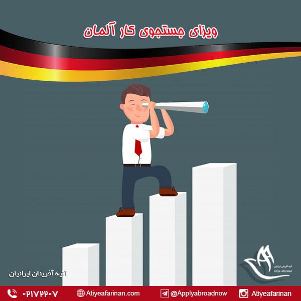 ویزای جستجوی کار کشور آلمان