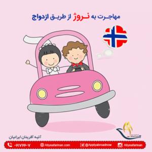 مهاجرت به نروژ از طریق ازدواج