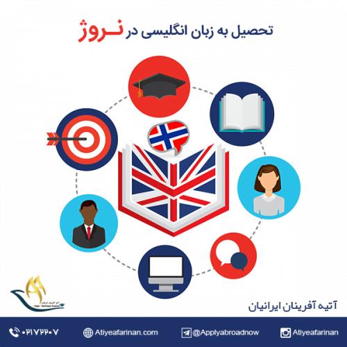 تحصیل به زبان انگلیسی در نروژ