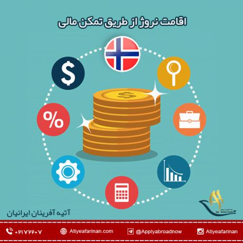 اقامت نروژ از طریق تمکن مالی