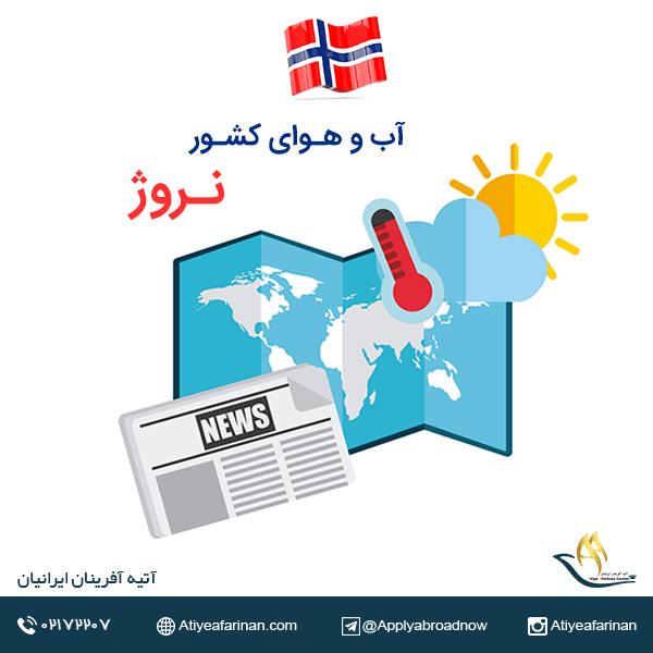 آب و هوای کشور نروژ