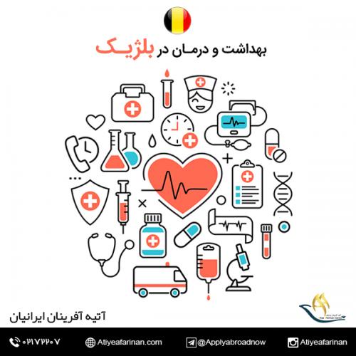 بهداشت و درمان در کشور بلژیک