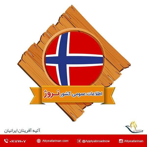 اطلاعات عمومی کشور نروژ