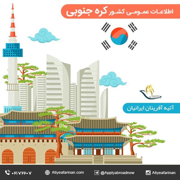 اطلاعات عمومی کشور کره جنوبی
