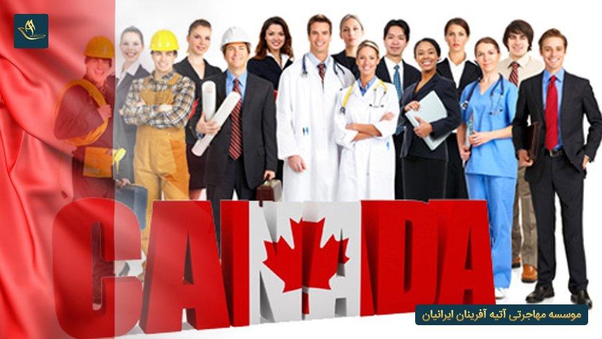 لیست مشاغل مورد نیاز کانادا