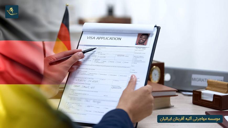 مدارک لازم برای دریافت ویزای کار آلمان