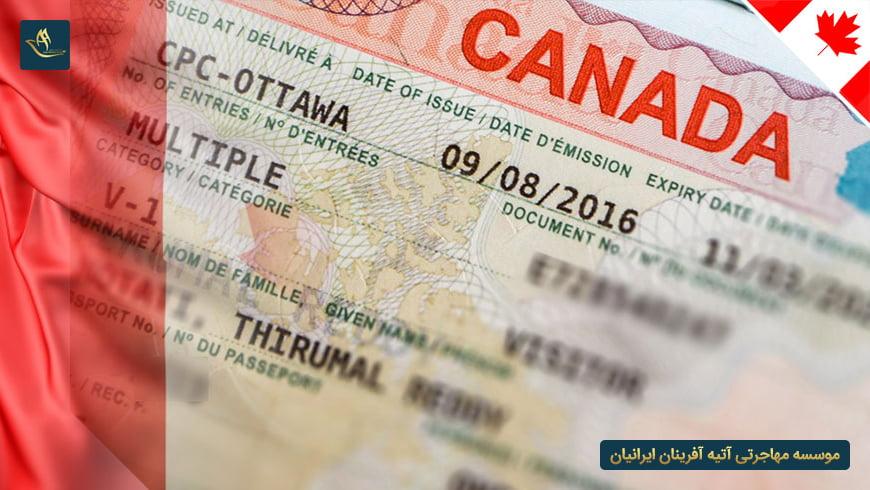 مدارک لازم برای دریافت ویزای کار کانادا