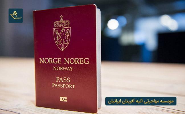 پاسپورت کشور نروژ | میزان اعتبار پاسپورت نروژ | روش های دریافت پاسپورت نروژ | دریافت پاسپورت نروژ از طریق پناهندگی